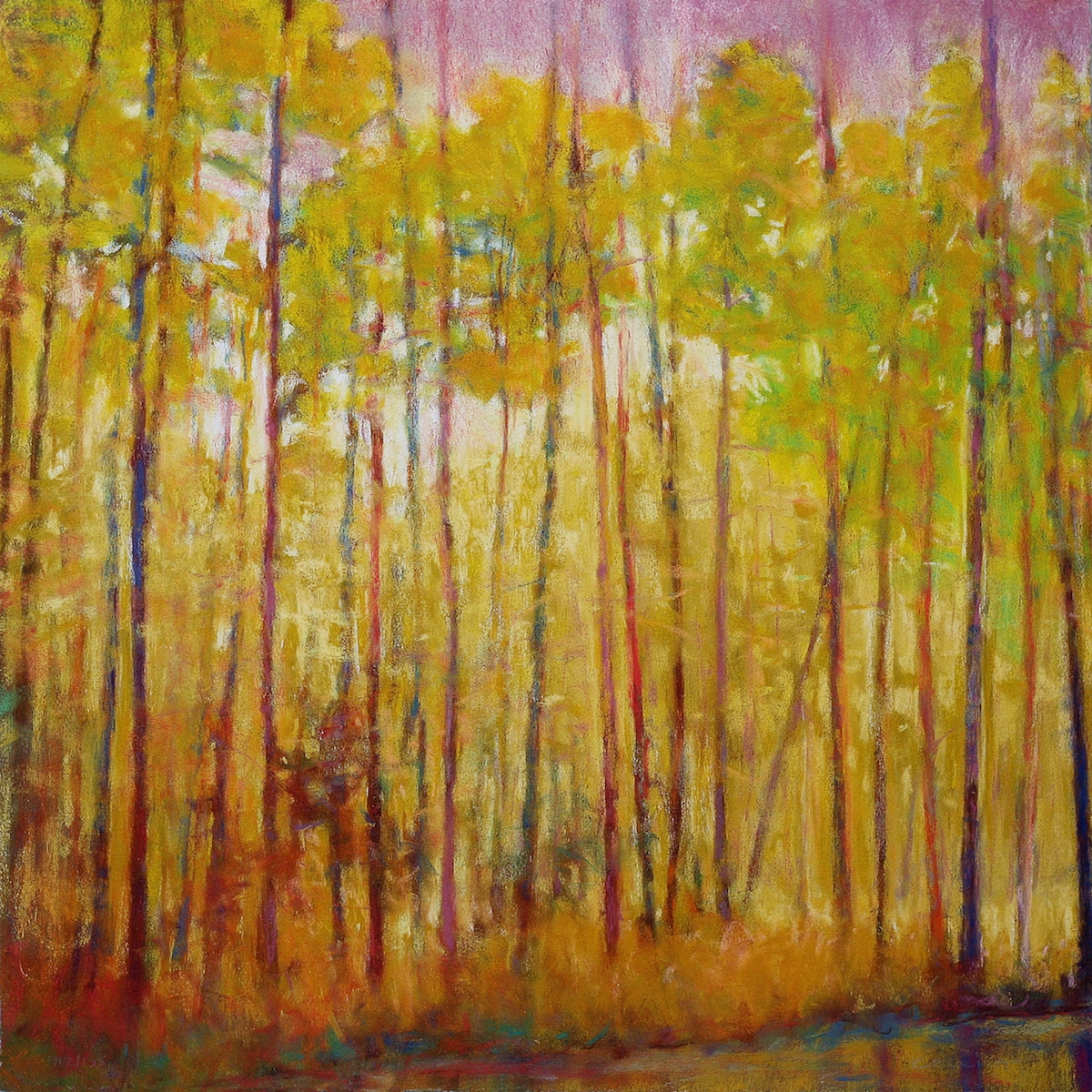 The Yellow Curtain Giclée by Ken Elliott, in the Gallery at Page Waterman